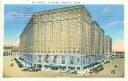 BOSTON - Hotel Statler - Boston