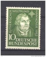 Allemagne  -  RFA  -  1952  :  Yv  36  **           ,     N2 - [7] West-Duitsland