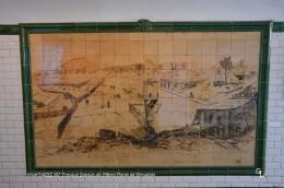 Paris XV (75)-Fresque Station De Métro Porte De Versailles (EDITION à TIRAGE LIMITE) - Arrondissement: 15