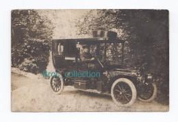 Marcigny, Carte-photo D´un Homme Au Volant De Son Automobile, L. François, Scan Recto-verso (71, Saône-et-Loire) - Other Municipalities