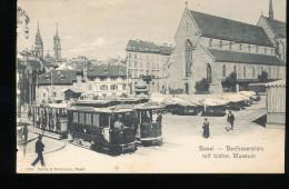 Suisse --  Basel -- Barfusserplatz Mit Histor. Museum - BS Bâle-Ville