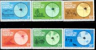 Br.Ant.Terr. 1982 Set/6 Volcano Dinosaur Prehistoric Climate  Geology  #86-91 - Unused Stamps