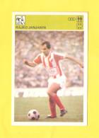 Svijet Sporta Card - Soccer, Rajko Janjanin, NK Dinamo, FK Crvena Zvezda     164 - Football
