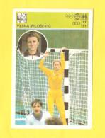 Svijet Sporta Card - Handball, Vesna Milošević     194 - Handball