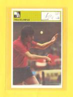 Svijet Sporta Card - Table Tennis, Special Edition, Autogram, Signature Card, Tibor Klampar, RRR - Tennis De Table