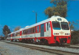 AK Eisenbahn Griechenland Greece Hellas Argos OSE Peloponnes Greek Railways Zug  Chemin De Fer Ferrocarril Spoorwegen - Trains
