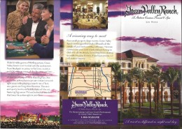 Green Valley Ranch Casino Las Vegas, NV Paper Brochure - Reclame