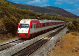 AK Eisenbahn Griechenland Greece Hellas Athen OSE IC DE 2000 Greek Athina Athens AEG/LEW Ferroviaire Chemin De Fer Rail - Trains