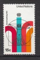 ##32, Nations-unies, United Nations, UN, ONU, Homme De Vitruve Man, Léonard De Vinci, Homme Nu, Nude Man - New York - Sede Centrale Delle NU