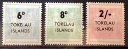 Tokelau 1966 MH* # 6/8 - Tokelau