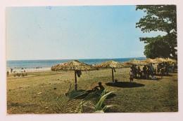 EL COCAL BEACH, QUEPOS, COSTA RICA, 1972, With Stamps - Costa Rica