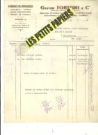 59 - Nord - CAMBRAI - Facture FONTAINE - Fabrique De Confiseries – 1951 - REF 229B - France