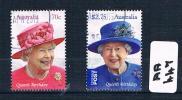 Australia  2015  Qe2 Birthday 2val Sheet F/used AA447 - 2010-... Elizabeth II