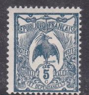 New Caledonia SG 112 1905 Definitives 5c Blue Mint - New Caledonia