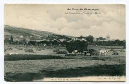CPA  51  :  AY  Panorama Avec Attelage Agriculture     VOIR  DESCRIPTIF  §§§ - Ay En Champagne
