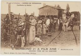 33--BORDEAUX-CUEILLETTE DU RAISIN--ETS BERMOND--TBE--VOIR SCANNER - Bordeaux
