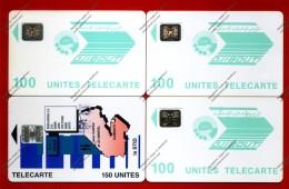 DJIBOUTI: DJI-12, 13 & 24 4 Cards 100 Units. SC4, SC5 & SC7 - Djibouti