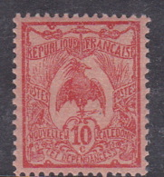 New Caledonia SG 114 1905 Definitives 10c Red Mint - New Caledonia
