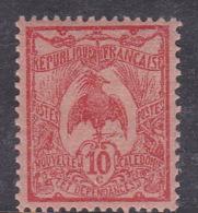 New Caledonia SG 114 1905 Definitives 10c Red Mint - Nouvelle-Calédonie