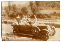 < Automobile Auto Voiture Car >> Belle Photo Originale 9 X 13 Renault NN Excursion Animation Religieuse