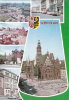 Grote Kaart Wroclaw Breslau Silesia CPA Polen Poland Polska Pologne - Pologne