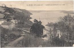 Cpa - Le Cellier - La Gare De Clermont Et La Loire - Le Cellier