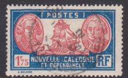 New Caledonia SG 170 1928 Definitives 1 F 75c Orange And Blue Used - New Caledonia