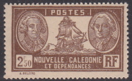 New Caledonia SG 174 1928 Definitives 2 F 50c Brown MNH - New Caledonia