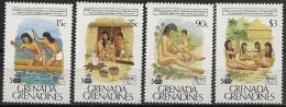 Grenada Grenadine/Grenade Grenadines: Nativi Locali, Local Natives, Indigènes Locaux - Indios Americanas