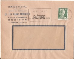 Beziers -comptoir Agricole Nougaret Beziers-1958 - 1921-1960: Période Moderne