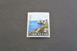 F7362- Stamp  MNH GIBRALTAR - 1970-  Scott # 233- Europa Point - Gibraltar