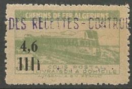ALGERIE COLIS POSTAUX YVERT N° 132 NEUF**   SANS   CHARNIERE /  MNH - Algérie (1924-1962)
