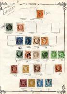 Classiques Emission De Bordeaux Lot De Classiques 21 Bordeaux 31 Type Sage ...soit 52 Timbres Grosses Cotes - Briefmarken