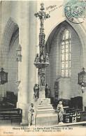 - Depts Divers -FF716- Nievre - Neuvy Sautour - Interieur De L Eglise - La Belle Croix  Erigee En 1514 -carte Bon Etat - France
