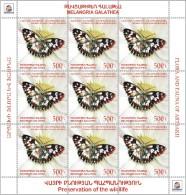 2016 NAGORNO MOUNTAINOUS KARABAKH ARMENIA BERGKARABAKH FLORA FAUNA 4 SHEETS OF 9 MNH - Timbres