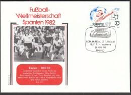 Spain Madrid 1982 / Football, Soccer / World Championship Spain 1982 / Germany - England - Coppa Del Mondo