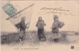SOMME - Pêcheuses De Crevettes - Dos Non Divisé 1904 - Frankrijk