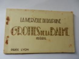 GROTTES DE LA BALME  CARNET 6 CP - France