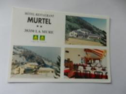 38 LA MURE HOTEL MURTEL - Autres Communes