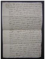 29 Nivose An 10, Duravel Famille Delpech, Arrondissement De Cahors, Saint Martin - Manuscripts