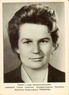 Valentina Vladimirovna Terechkova Première Femme Cosmonaute De L´histoire - Astronomie