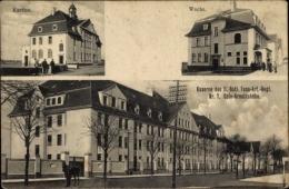 Cp Raderberg Köln, Kaserne Des II. Batl. Fuß Art. Regt. Nr. 7, Arnoldshöhe, Kantine, Wache - Allemagne