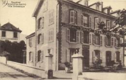 Dauphiné URIAGE Les BAINS  Villa Delmenique Recto Verso - Uriage