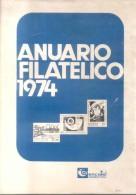 ANUARIO FILATELICO 1974 - ENCOTEL ARGENTINA 45 PAGINAS TAMAÑO 21 X 30 CENTIMETROS CON LA INFORMACION MAS COMPLETA DE TOD - Administraciones Postales