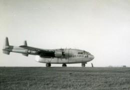 USA Avion De Transport Militaire US Air Force Fairchild C-119 Flying Boxcar Ancienne Photo 1960 - Aviation
