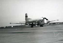 USA Avion Cargo Militaire US Air Force Douglas C-124 Globemaster Ancienne Photo 1960 - Aviation