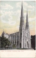St. Patrick's Cathedral, New York, Early 1900s Unused Postcard [17497] - Églises
