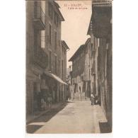BLARSTP3181-LFTD6511.Tarjeta Postal De BALEARES.Casas,niños,tiendas Y CALLE DE LA LUNA En  SOLLER,MALLORCA - Mallorca