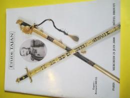 Armes Et Uniformes/Catalogue De Vente Aux Enchéres/ Etude TAJAN/Rares Armes Anciennes/2000   CAT138 - Cataloghi