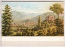 Susanne Schinkel Um 1876 , Blick Von Der Hohen Warte Auf Das Festspielhaus Und Bayreuth , Aquarell , Richard Wagner - Pittura & Quadri